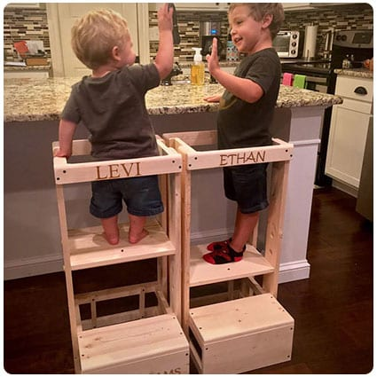 Safe Step Stool Kitchen Helper