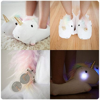 Smoko Plush Light Up Slippers