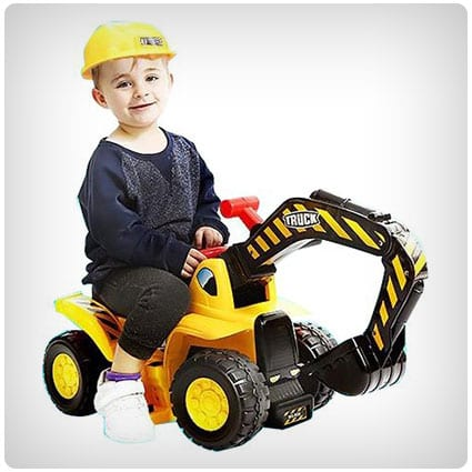 Toy Tractors For Kids Ride-on Excavator