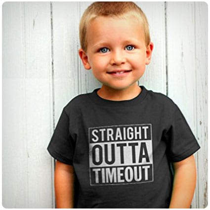 Teestars Straight Outta Timeout T-Shirt