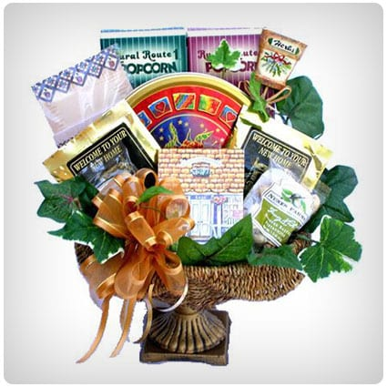 Village Housewarming Gift Basket for New Homeowners