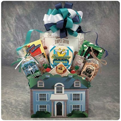 Welcome Home House Warming Gift Basket