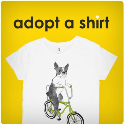 unusual dog tees