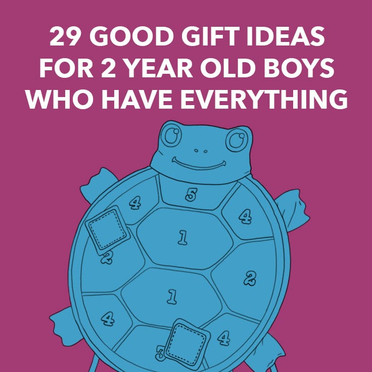 29 Good Gift Ideas for 2 Year Old Boys Who Have Everything - Dodo Burd