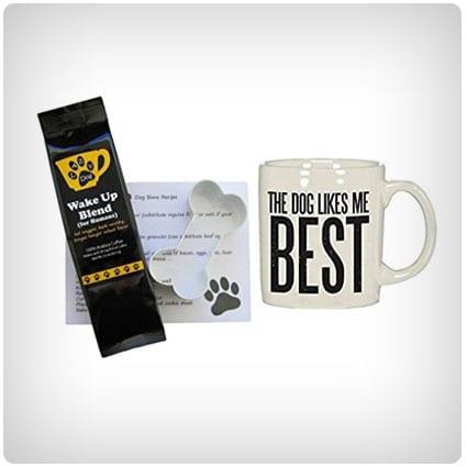 Dog Likes Me Best Mug