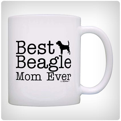 Best Beagle Mom Ever Mug
