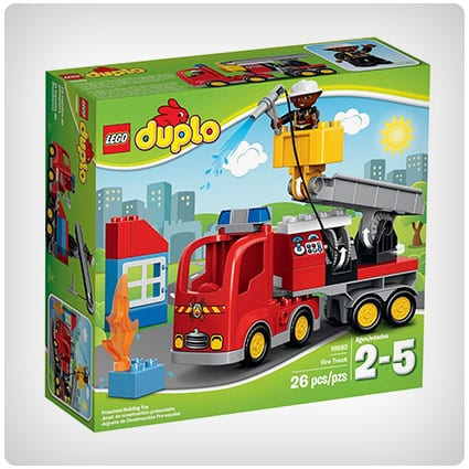 LEGO DUPLO Town Fire Truck Toy