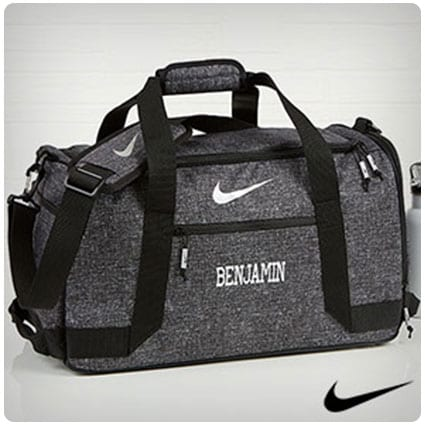 Nike® Embroidered Duffel Bag