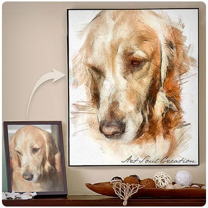 Personalized Dog Illustration