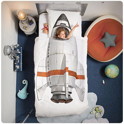 Rocket Duvet Pillowcase Set