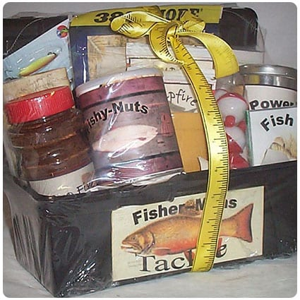 Tackle Box Men Gift Basket