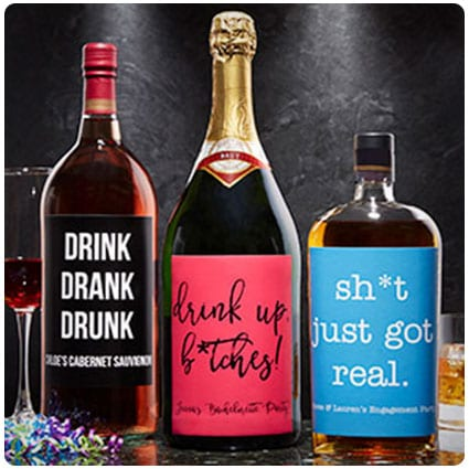 Write Your Own Expressions Personalized Liquor Label