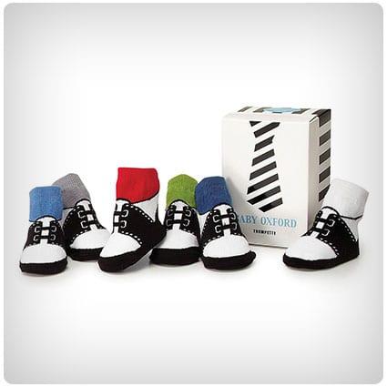 Baby Boy Oxford Socks