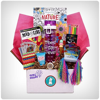 Beyond Bookmarks Girl Stuff Gift Basket