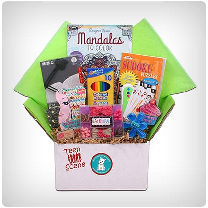 Beyond Bookmarks Teen Scene Gift Basket