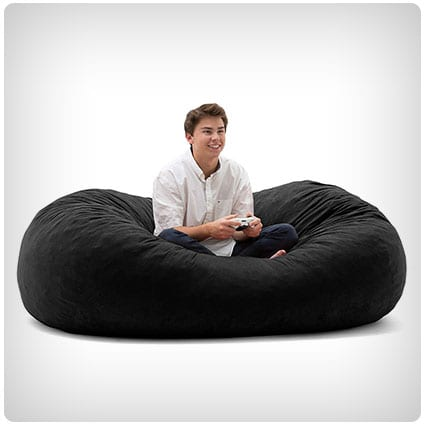 Big Joe XL Fuf Foam Filled Bean Bag Chair