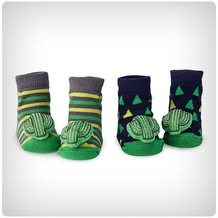 Cactus Rattle Socks