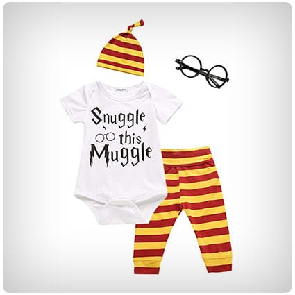 Crazybee Snuggle This Muggle Rompers