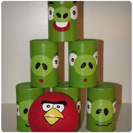 Diy Angry Bird Can Toss Game