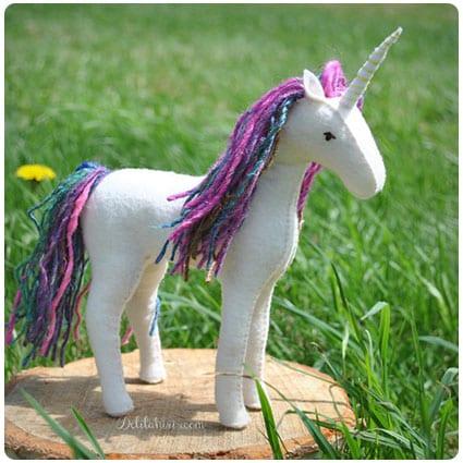 Diy Felt Horse, Unicorn and Pegasus