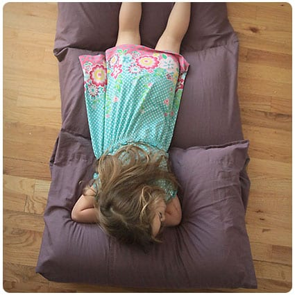 Diy Kids' Pillow Bed