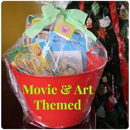 Diy Movie & Art Themed Gift Basket Video Tutorial