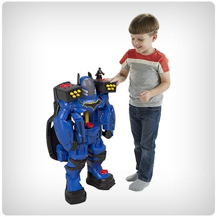 Gifts For 6 Year Old Boys Look No Further Than The Following Save Fisher Price Imaginext DC Super Friends Batbot Xtreme