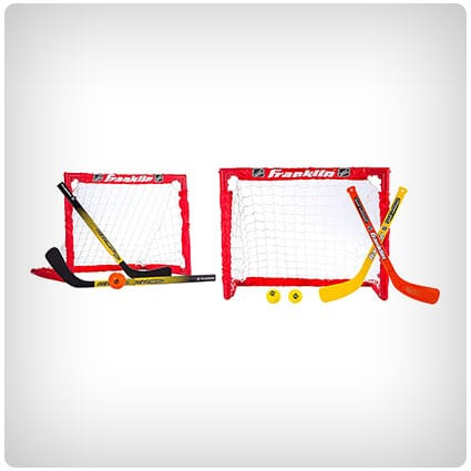 Franklin Sports Kids Folding Hockey Goal Set
