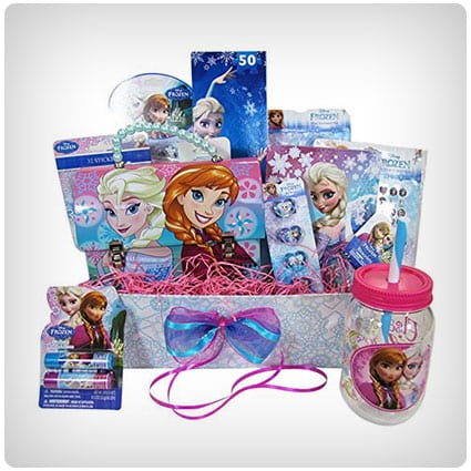 Frozen Themed Gift Basket