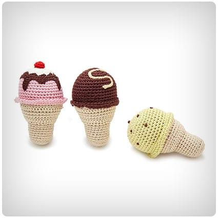 Ice Cream Rattles