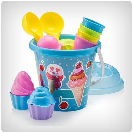 Ice Cream and Cake Beach Set