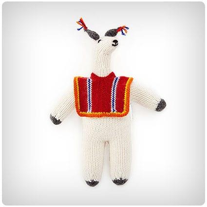 Llama With Poncho Plush