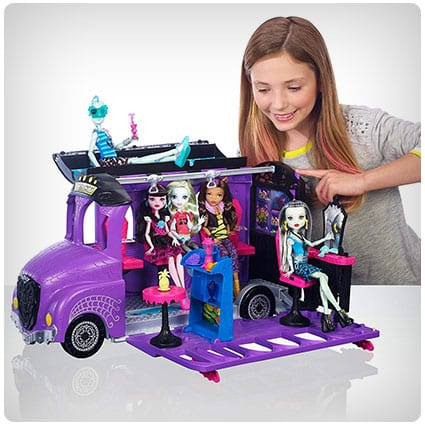 Mattel Monster High Bus and Mobile Salon Toy Playset