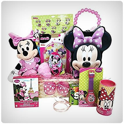 Minnie Mouse Themed Basket