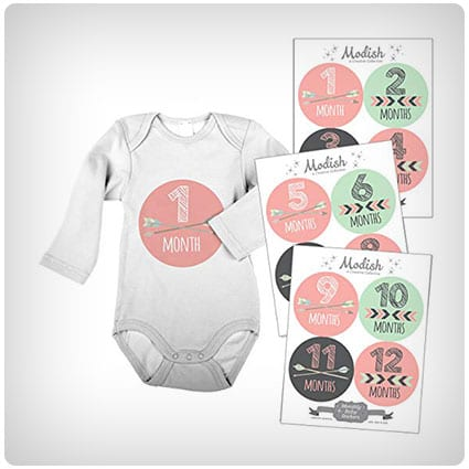 Modish Monthly Baby Stickers