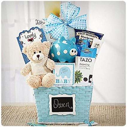 3cbfaf22a80e 24 Best Baby Gift Baskets of All-Time for Baby Showers (Guaranteed ...