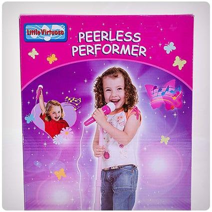 Peerless Performer Microphone Pink Edition