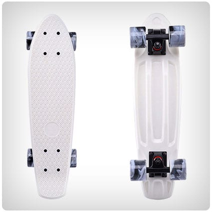 Playshion Complete Mini Cruiser Skateboard