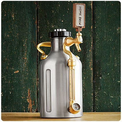 Pressurized Craft Beer Growler
