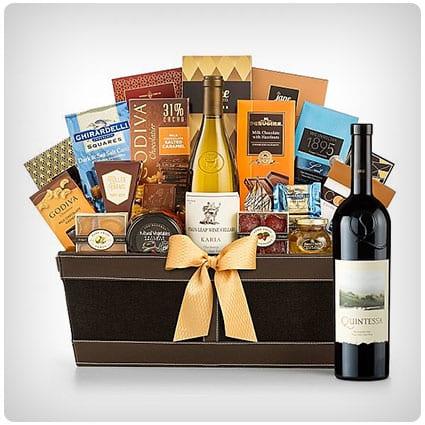 Quintessa Meritage Red Cape Cod Luxury Wine Basket