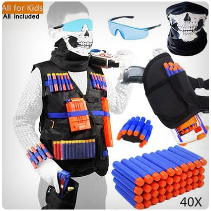 Tactical Vest Kit for Nerf Guns