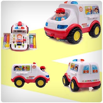 Toddlers Ambulance Medical Kits Toy