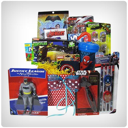 Ultimate Superhero Gift Basket