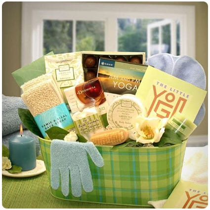 Yoga Gift Basket