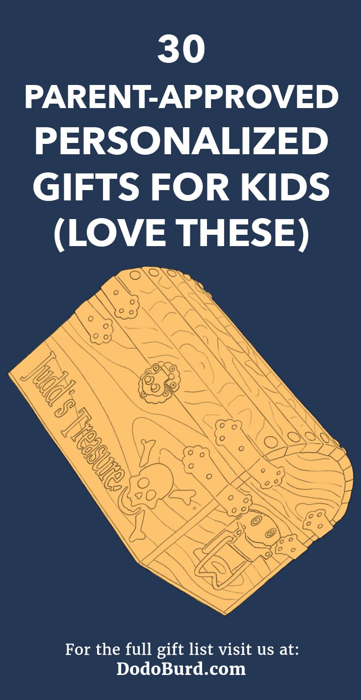 From camp chairs to recliners, you can get personalized gifts for kids that they will LOVE. Check out this list for some incredibly creative options.
