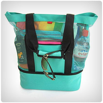 Aruba Mesh Beach Tote Bag