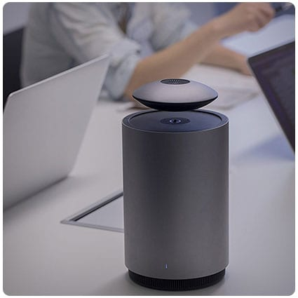 Auto Levitating Speaker with Subwoofer