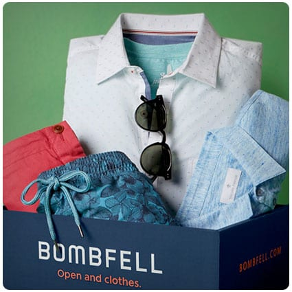 Bombfell Men's Clothing Subscription Box