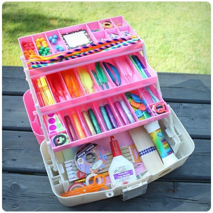 Diy Tackle Box Craft Kit