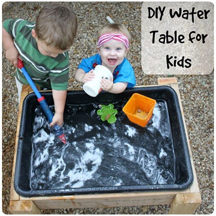 Diy Water Table for Less than $15